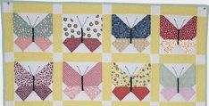 Change Its Personality by Using Bold Colors and Modern Prints! Pretty butterflies flutter across the surface of this retro quilt. The 1930s reproduction fabrics are perfect, although this will be charming in modern fabrics, too. Polka dots and gingham give the quilt a bit of whimsy, as does the variety of colors. Surely you have …
