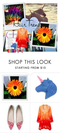 """""""taste the rainbow"""" by meadowbat ❤ liked on Polyvore featuring beauty, Sophia Webster, Alena Akhmadullina and KOTUR"""