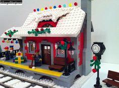 Winter Village: Winterville Station - LEGO Town - Eurobricks Forums