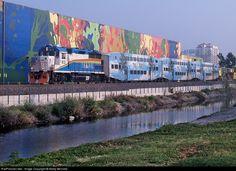 RailPictures.Net Photo: SFRTA 813 Tri-Rail EMD GP49 at Palm Beach, Florida by Marty Bernard