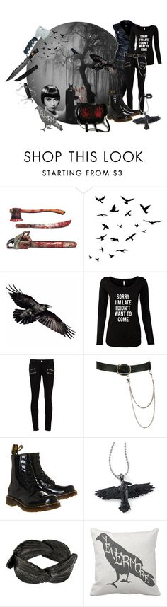 """""""Set #1354 - Silly Zombie Animals"""" by the-walking-doctor ❤ liked on Polyvore featuring Brooks, Miss Sixty, Paige Denim, Wet Seal, Dr. Martens, Aurum By Gudbjorg, Victorinox Swiss Army, women's clothing, women's fashion and women"""