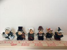 FINAL SALE, VINTAGE Set of  (6) Miniature Japanese Ladybug People, Figurines by JeaniesFunkyTown on Etsy
