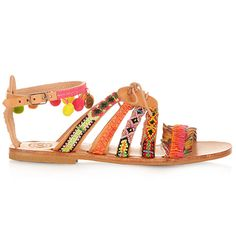 The Coolest Summer Sandals by Elina Linardaki | sheerluxe.com