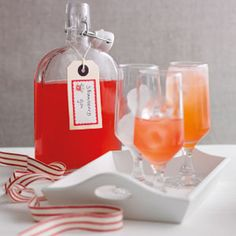 Strawberry gin - sounds yummy and only takes 3 days to make.