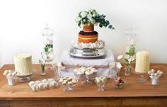 rustic dessert tables