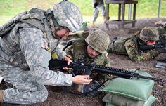 German Army and U.S. Army German Army