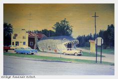 Lisa's RetroStyle: Wordless Wednesday ~ Vintage Roadside Kitsch