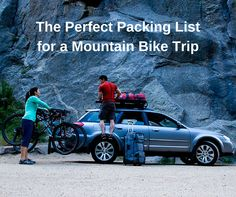 Going on a #mountain #bike trip? Take these #organizedtravel tips ---> save the uphill battle for the actual ride: http://www.eaglecreek.com/blog/perfect-packing-list-mountain-biking-trip