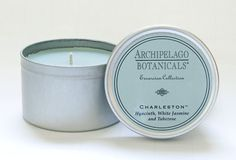 #Charleston Tin Candle by Archipelago Botanicals as seen in the new #PlantersInn Look Book!