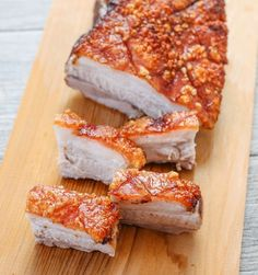 """I know you're probably thinking """"What? Another pork belly post?"""" As you may have guessed, sometimes I get a little obsessed. Even though I'm convinced I found the most perfect roasted pork belly (which I shared with you two weeks ago), I've come across other methods that had me curious. This roasted pork belly has …"""