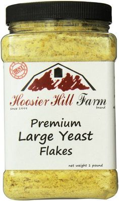 Hoosier Hill Farm Nutritional Yeast Flakes, 1 Pound