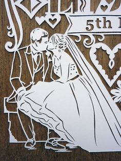 Paper-Cut Art and Illustration, artist?  Looks like work of julene Harrison? but source is different?