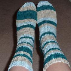 Striped bamboo socks #socks #knitting