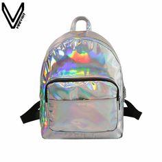 5905affa614 Cheap hologram laser backpack, Buy Quality backpack hologram directly from  China laser backpack Suppliers  women backpack hologram laser backpacks girl  ...