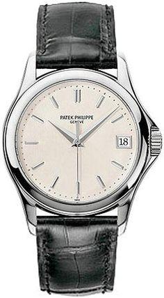 Patek Philippe Calatrava 18kt White Gold Mens Watch 5127G