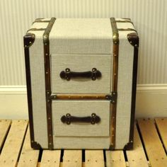 Storage Chest With Drawers