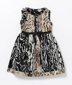 Lanvin Petite Leopard Dress - I'll take the adult version, thank you.