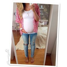 Cute maternity fashion