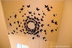 batterfly's wall... this would be good in the stairway