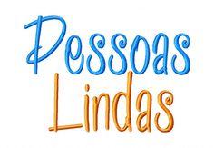 "PessoasLindaXXX  Uppercase, Lowercase, Numbers and Bonus Punctuation  Sizes: 1"" 2"" & 3"""