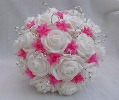 Southern Blue Celebrations: Pink Wedding Boquets