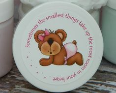 Baby Shower Favors  Personalized Whipped Body by HuckleBeeHollow, $2.95