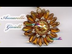 Tutorial - Simil Gerbera - Come fare peyote - YouTube