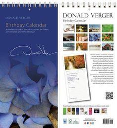 Donald Verger Photography Birthday and Anniversary Perpetual Calendar. Blue Hydrangea Flower. Wall or Desk. 11x5 Donald Verger Photography $15.00 Middle Click Here» http://www.amazon.com/gp/product/B006P3EB74/ref=as_li_tl?ie=UTF8&camp=1789&creative=9325&creativeASIN=B006P3EB74&linkCode=as2&tag=wwwpintere085-20