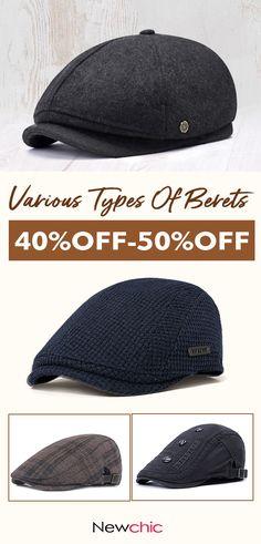 e7c5a7f25f5c6  Get Your New Beret Caps 2018 Fashion Casual Beret Hats Caps Dress Hats