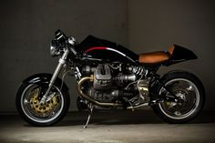 """Moto Guzzi Cafe Racer """"The Stallion"""" by Barn Luck #motorcycles #caferacer #motos 