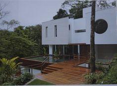 Projeto de Sandra Picciotto, Iporanga, litoral paulista, publicado na revista Wish Casa fevereiro 2012.