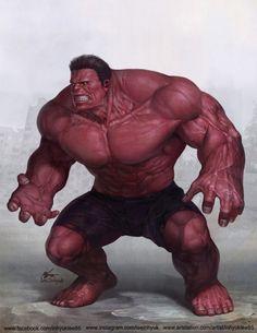 Red Hulk - Inhyuk Lee