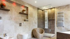 A gallery of 49 relaxing bathroom design ideas and simple but cool bathroom ideas & tips for you to include in your next bathroom redesign