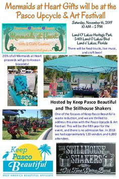 Mermaids at Heart Gifts will be there!