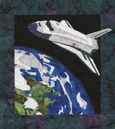 Bday plans on pinterest for Space shuttle quilt