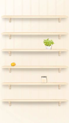 iPhone 6 plus home wallpaper shelf