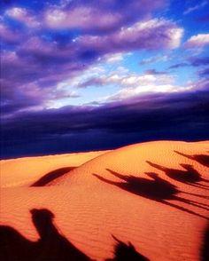 The Sahara ..