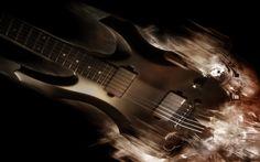 Digital Art Electric Guitar Wallpaper