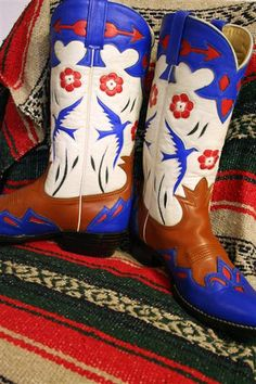Gene Autry custom inlay cowboy boots | Flickr - Photo Sharing!