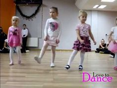 Grupa dzieci 3-5 lat Love to Dance - YouTube