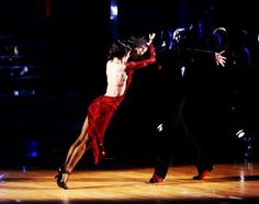 Val Chmerkovskiy & Meryl Davis  dance a spectacular Argentine Tango  during Switch-partners-week-4  -  Dancing with the Stars  -  season 18  -  spring 2014