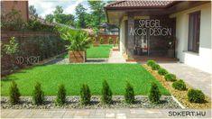 Land Scape, Pergola, Sidewalk, Outdoor Structures, Patio, Garden, Outdoor Decor, Flowers, House