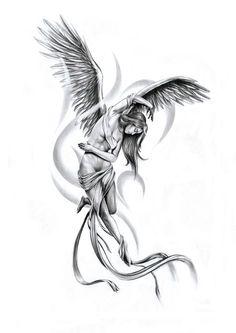 20 best small trend tattoo designs beautiful little angel tattoo for any age . - 20 best small trend tattoo designs beautiful little angel tattoo for all ages - Cherub Tattoo Designs, Tribal Tattoo Designs, Tattoo Designs For Women, Tattoo Sketches, Tattoo Drawings, Body Art Tattoos, Sleeve Tattoos, Skull Tattoos, Cat Tattoo