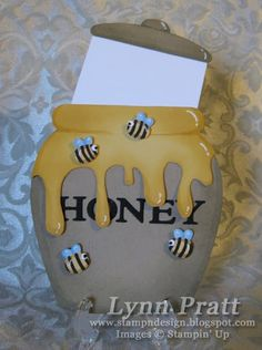 Honey pot | Creative Cards | Pinterest | Honey, Bees and Cards