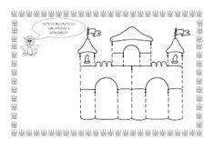 ESOS LOCOS BAJITOS DE INFANTIL: MAS FICHAS DEL PROYECTO LOS CASTILLOS Art For Kids, Crafts For Kids, Fairytale Castle, Ideas Para, Fairy Tales, Art Projects, Diagram, Kids Rugs, Symbols