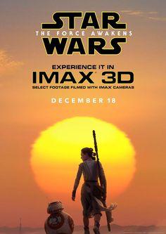 Une affiche magnifique pour Star Wars Episode VII en IMAX