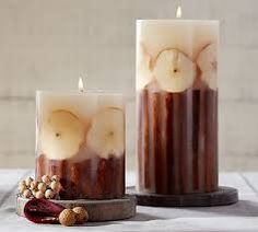 Resultado de imagen de candles with botanical inclusions