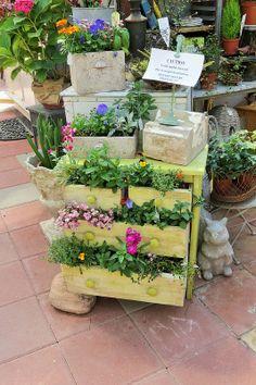 Dresser as Planter