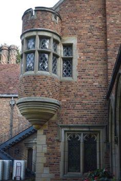 Frances Dodge's Oriel window at Meadow Brook Hall.