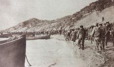 Landing Day, April 25, 1915. Gallipoli. 100th Anniversary